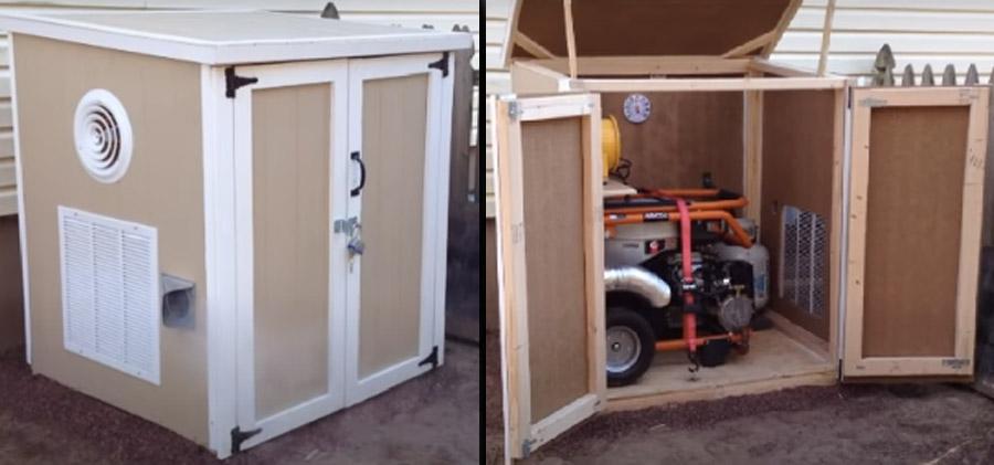 Enclosure for Portable Generator