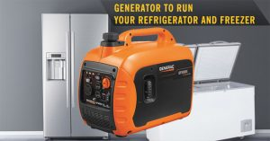 What Size Generator Do I Need to Run a Refrigerator and Freezer
