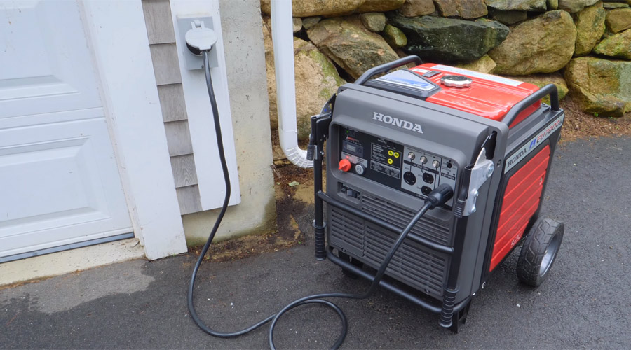 How to connect a generator to house without transfer switch